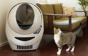 未来型ラクラク全自動猫トイレ「キャットロボット オープンエアー」